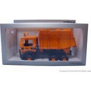 Cityserie Recyclingfahrzeug, im Geschenkkarton Aufsatz orange