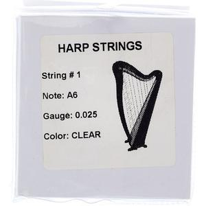 Thomann Strings for Roundback Harp 22