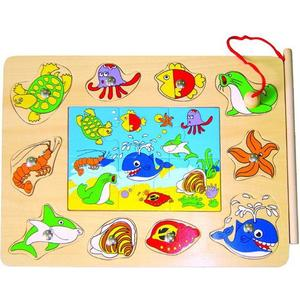 - UNKNOWN - Magnetic Fishing Game, 16 pcs. (85283)