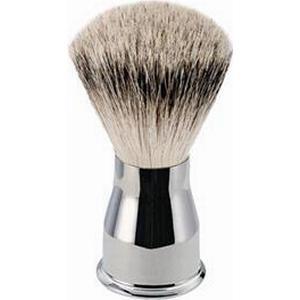 ERBE Shaving Shop Rasierpinsel Rasierpinsel Silberspitz, Metallgriff glänzend 1 Stk.