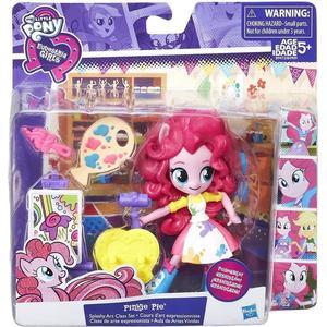 Hasbro My Little Pony Equestria Girls små Dockor Pyjamaspartyset Pinkie Pie B9472