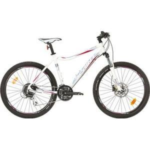 26 Zoll Damen Mountainbike 24 Gang Sprint... weiß-blau, 44cm