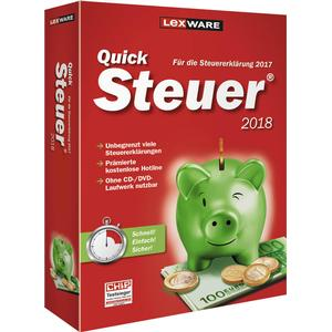 06810-0064 LEXWARE QuickSteuer 2018 Vollversion
