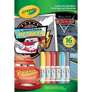 Crayola Malen nach Zahlen Disney Cars