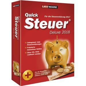 06815-0054 LEXWARE QuickSteuer Deluxe 2018 Vollversion