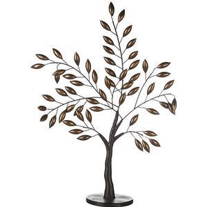Baum Oak Metall | 760 x 480 mm | Dekoartikel Wohnzimmer | 2er Set