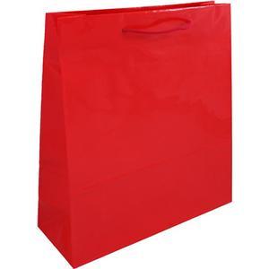 Accessories Grosse Geschenktasche - Rot 36 x 12 x 40 cm