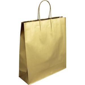 Accessories Grosse Geschenktasche - Gold 36 x 12 x 40 cm