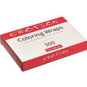 Efalock Professional Friseurbedarf Verbrauchsmaterial Coloring Wraps 110 x 160 mm 500 Stk.