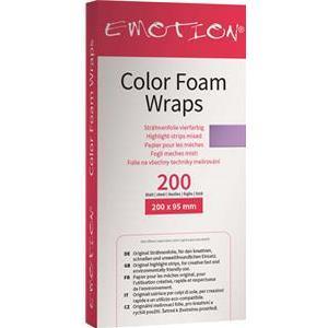 Efalock Professional Friseurbedarf Verbrauchsmaterial Coloring Foam Wraps 200 x 95 mm 200 Stk.
