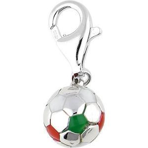 Esprit Charm 925 Silber Football ESZZ90466E Kettenanhänger silber Damen Gr. one size