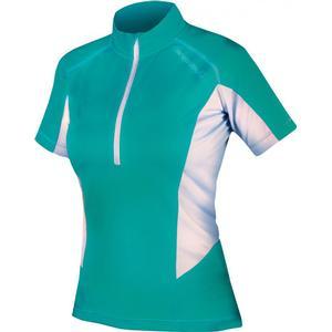 Endura Pulse Kurzarm Jersey Trikot Women - Radtrikot - aquamarine türkis - Gr.S