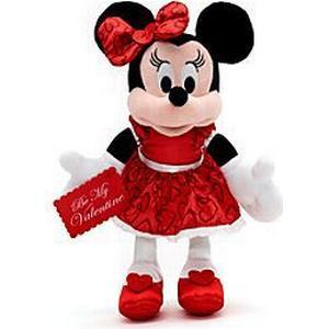 Disney Store Minnie Maus - Kuscheltier Valentinstag