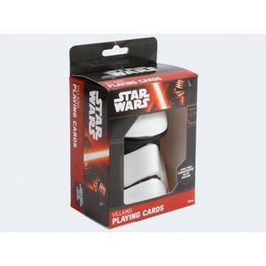 Altenburg ASS Altenburger 22501665 - Star Wars Spielkarten, Schurken Deck im Stormtrooper Helm