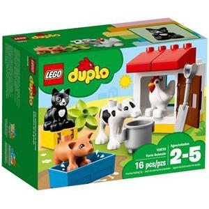 Lego Duplo Tiere auf dem Bauernhof 10870