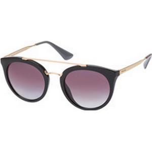 Luxottica Fashion Brillen Vertriebs GmbH Prada Cinema PR 23Ss 1Ab-2A0, Aviator Sonnenbrillen, Schwarz