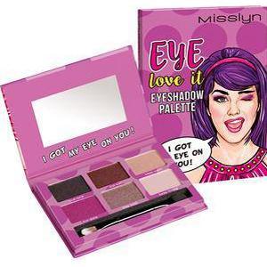 Misslyn Augen Lidschatten Eye Love It Eyeshadow Palette Nr. 2 I Got My Eye On You! 13,34 g