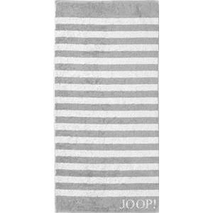 JOOP! Handtücher Classic Stripes Handtuch Silber 50 x 100 cm 1 Stk.