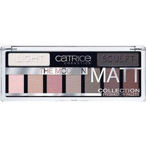 Catrice Augen Lidschatten The Modern Matt Collection Eyeshadow Palette Nr. 010 The Must-Have Matts 10 g