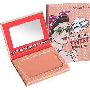 Misslyn Teint Blusher Treat me Sweet! Powder Blush Nr. 38 Let's Dance Mango Tango! 6 g