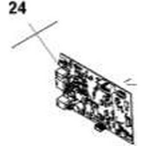 Platine, kpl. für Ladestation PCB