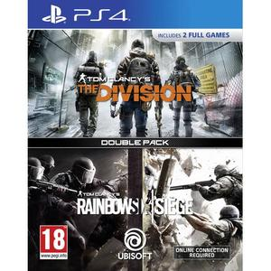 Tom Clancy's The Division + Rainbow Six Siege Double Pack PS4 Game