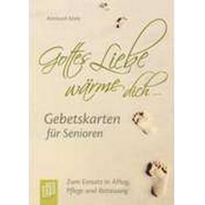 """""""Gottes Liebe wärme dich ..."""" - Gebetskarten für Senioren (Kartenspiel)"""