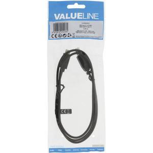 Valueline USB 2.0 Cable Type-C Male - B Male 1 m Black