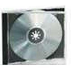 Assmann DIGITUS ednet 91907 - Leerhülle für CD, DVD, Blu Ray - Set aus 10 Stück - schwarzes CD-Tray und tran
