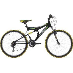 26 Zoll Cinzia Arrow Fully Mountainbike 18 Gang schwarz