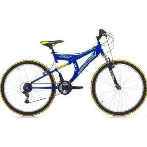 26 Zoll Cinzia Arrow Fully Mountainbike 18 Gang blau