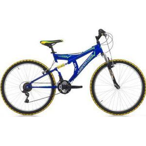 26 Zoll Cinzia Arrow Fully Mountainbike 18... blau