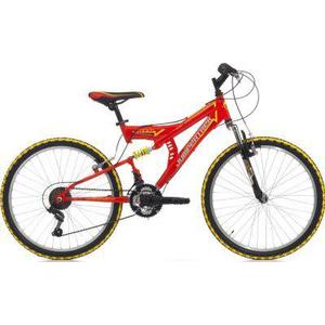 26 Zoll Cinzia Arrow Fully Mountainbike 18... rot