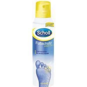 Scholl Fußpflege Fußgesundheit Fußschutz Spray 2 in 1 150 ml