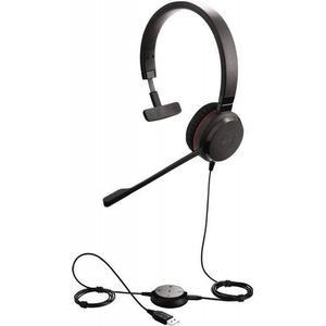 Jabra 5393-823-309 II MS monaural USB Professionelles Headset Schwarz