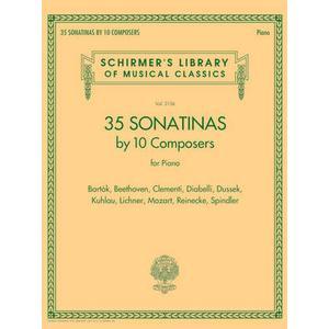 G. Schirmer 35 Sonatinas for Piano