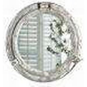 1-2-3.tv miaVILLA Wandspiegel Bullauge Silberfarben