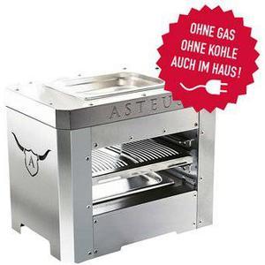 Asteus Steaker 800 Grad Elektro Infrarotgrill Edelstahl