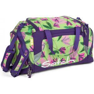 Satch Pack Sporttasche 50 cm Lila Blumen
