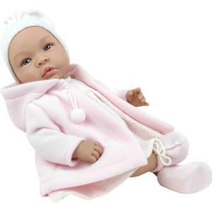 Asi dolls - Leonora Puppe mit warmem Mantel, 46 cm