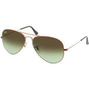 Brille24 GmbH Aviator Large Metal RB3025 9002A6 58-14 in shiny medium bronze