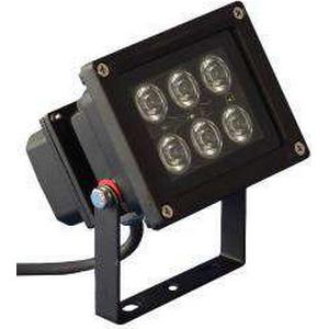PTL - LED Outdoor Spot 6 x 1W orange LED Outdoor Spot