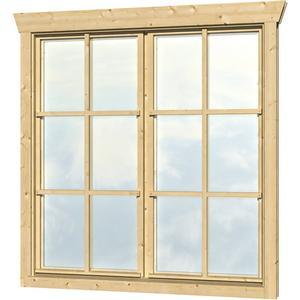 Doppel-Einbaufenster SKANHOLZ Doppelfenster mit H 123,5 cm fr 28 mm