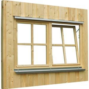 Carport-Fenster SKANHOLZ Doppelfenster Holzfenster Dreh-Kipp-Beschlag