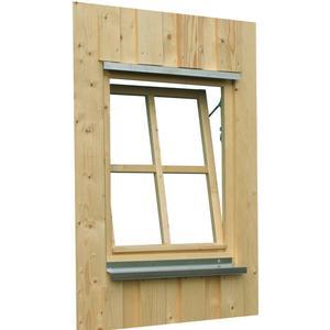Carport-Fenster SKANHOLZ Einzelfenster Holzfenster Dreh-Kipp-Beschlag