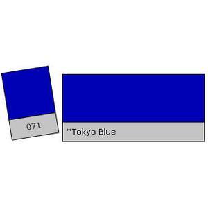 Lee Filter Roll 071 Tokyo Blue