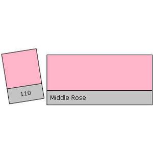 Lee Filter Roll 110 Middle Rose