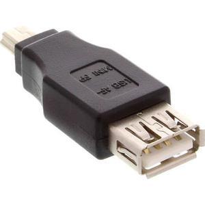 InLine USB 2.0 Adapter, Buchse A auf Mini-5pol Stecker