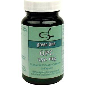 11 A Nutritheke GmbH green line OPC 150 mg Kapseln, 60 St