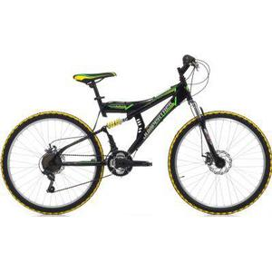 26 Zoll Cinzia Arrow Fully Mountainbike 21 Gang schwarz